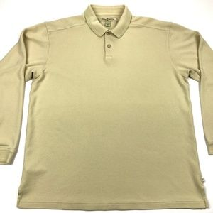 Tommy Bahama Long Sleeve Polo Men's Large